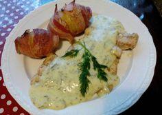 Sült Hekkfilé kapros mártással recept foto Good Food, Yummy Food, Delicious Food, Healthy Food