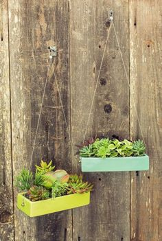 Rectangle Hanging Planter