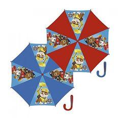 Paraguas automatico de Paw Patrol La Patrulla Canina - http://comprarparaguas.com/baratos/patrulla-canina/paraguas-automatico-de-paw-patrol-la-patrulla-canina/