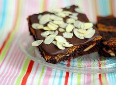 Mandelbrownies ♥ almond brownies