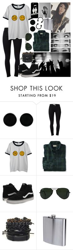 """Rock Concert/Festival"" by x-sweetea-x ❤ liked on Polyvore featuring AeraVida, Gucci, Frame Denim, Chicnova Fashion, Vans, Ray-Ban, The Sharper Image and Casetify"