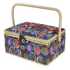 SEWING BASKET WOOLEN - LARGE | Birch Creative Sewing Baskets, Craft Kits, Birch, Creative, Crafts, Manualidades, Handmade Crafts, Diy Crafts, Craft