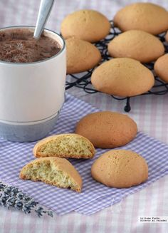 . Candy Recipes, Sweet Recipes, Cookie Recipes, Dessert Recipes, Cookies Receta, Brownie Cookies, Biscuits, Pan Dulce, Coconut Cookies