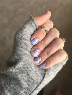 Jamberry February 2016 Hostess exclusive and color of the year Serenity Stripe