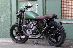 Pacific Motorcycle Company Honda CX500 Scrambler