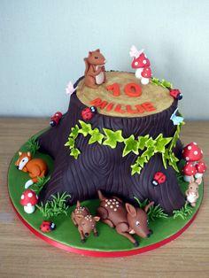 woodland-themed-birthday-cake-tree-stump-squirrel-fox-rabbit-deer-toadstools-sponge-poole-dorset-1200x1600.jpg 1,200×1,600 pixels