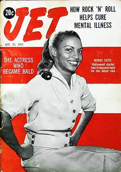 The Actress Who Became Bald - Jet Magazine, January 10, 1957 | Flickr - Photo Sharing!