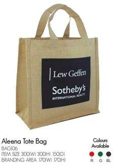 893b4ed1bafd Aleena Tote bag cw 1 color print. 100 min qty apply