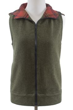 Dropje Hooded Vest by Waffle Patterns | Indiesew.com