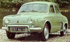 Renault Dauphine-front