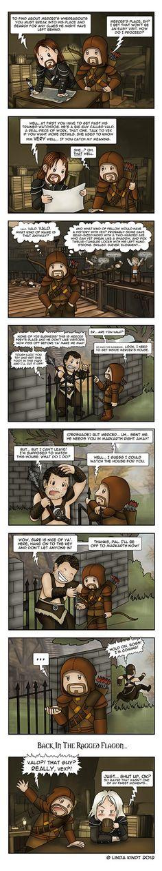 Skyrim: Rivalry by Isriana on DeviantArt