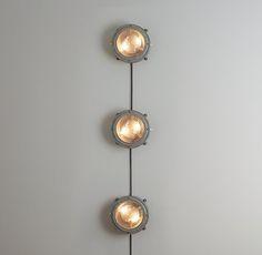 Wall-Mounted Vintage Headlights 3