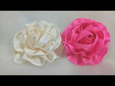 110) Tutorial Aplikasi Bunga Pita || Ribbon Flower - YouTube