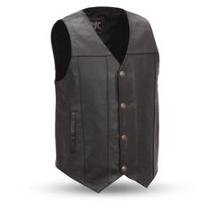 Looking for First Manufacturing Mens Buffalo Nickel Vest Internal Concealed Gun Pockets ? Check out our picks for the First Manufacturing Mens Buffalo Nickel Vest Internal Concealed Gun Pockets from the popular stores - all in one. Motorcycle Vest, Motorcycle Leather, Motorcycle Garage, Mens Western Vest, Leather Biker Vest, Lacoste Men, Men's Coats And Jackets, Mens Big And Tall, Cowhide Leather