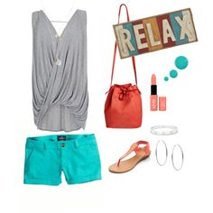 Relax by fromphilly on Polyvore featuring polyvore, fashion, style, River Island, American Eagle Outfitters, Mint & Rose, Michael Kors, Cartier, NYX, Accessorize and INC International Concepts