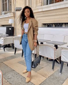 Cute Outfits With Jeans, Simple Outfits, Classy Outfits, Stylish Outfits, Summer Outfits, City Outfits, Paris Outfits, Fashion Outfits, Women's Fashion