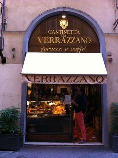 Cantinetta dei Verrazzano, Florence - Coffee, Pastries, Pizza.