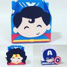 Super heróis  Mulher maravilha Superman Capitão América