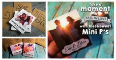 """""""We ordered Mini-Ps as wedding favors. They came out absolutely fantastic. The quality is awesome, and customer service was top-notch. I would recommend these to any bride. They come in envelopes stamped with cute sayings-we chose the 'happily ever after' stamp. Would order again in a heartbeat."""" ~ Suzanne  Take a peek for yourself >> www.mini-ps.com"""