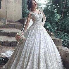 1960f81b31e66 Custom Long Sleeve Wedding Dresses