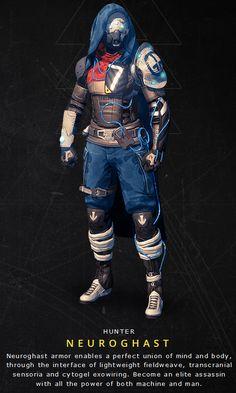 Destiny: Neuroghast Hunter armor