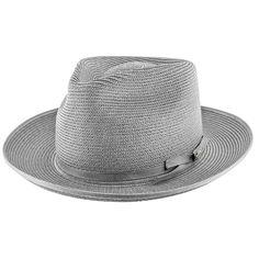 Stratoliner - Stetson Milan Straw Fedora Hat - TSSTROB 2de4fb5921f