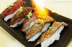Starking Fire Sushi from Chef's Noodle