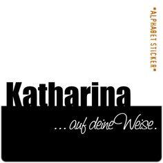 www.aufdeineweise.de · KATHARINA – SCRAPBOOKING ALPHABET STICKERS · Made in Germany · Format / Konzept: KLASSIK. (Russisches Alphabet)