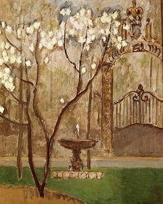 Kees van Dongen, Railings of Elysee Palace, Paris
