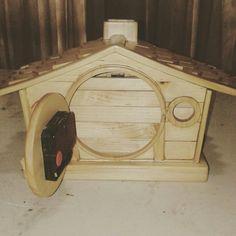 Farmhouse table clock