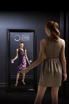 Robina Town Centre's virtual change room on the Gold Coast