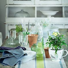 Shop Tableware at John Lewis. Buy Drinkware, Glassware and Table Linens to decorate your Dining or Kitchen Table. Dorset Tea, Oak Worktops, Quick Garden, Al Fresco Dining, Home Trends, Interior Inspiration, Kitchen Inspiration, Table Linens, Home Collections