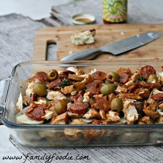 Portuguese Chicken Casserole | Frango a Portuguesa