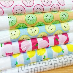 Just Add Sugar just arrived! Oh the perks of being close to the Riley Blake warehouse. These prints are fresh and bright and perfect for July sewing.  ! #justaddsugarfabric #simplesimonandco #rileyblake #rileyblakefabric #rileyblakedesigns #lemonfabric