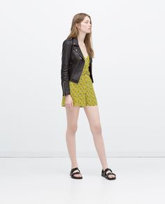 ZARA - COLLECTION AW15 - BLOUSON STYLE MOTARD EN CUIR
