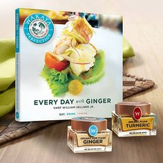 If you cook with #wakayaperfection #ginger #tumeric or #seasalt then join me in the prelaunch of www.mywakayaway.com/brenda You will only be able to buy these products via our new company! Ask me