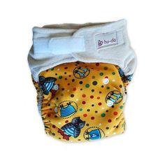Billes Naturwaren - Stoffwindeln aus Tirol - hu-da One-Size-Windel Bio-Velour BUNT Bunt, Lunch Box, How To Wear, Products, Bento Box
