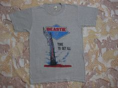 Vintage 80s Beastie Boy t-shirt. I'd rock this hard.  $150
