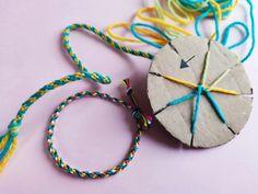 Flettet bånd med sju tråder – Hva skal vi lage Washer Necklace, Diy, Jewelry, Threading, Jewlery, Bricolage, Jewerly, Schmuck, Do It Yourself