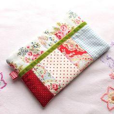 Make-up bag - Pencil Case - 'Rose Garden' - Cath Kidston fabric - FREE UK P £9.95