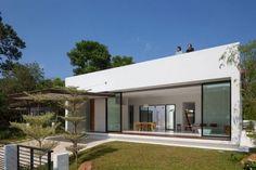 casas campestres modernas   Diseño de interiores