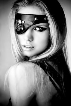 Pirate eye patch. *Nothing weird at all about this...even one-eyed pirates need to be loved...