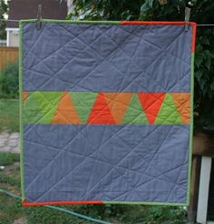 cute back & love the quilting!
