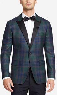 The Capstone Slim Tuxedo - Blackwatch Plaid