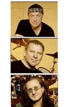 Rush. De band die zo'n beetje 'the soundtrack of my life' heeft gespeeld en nog steeds speelt! Neil Peart, Alex Lifeson, Geddy Lee, thank you so much!