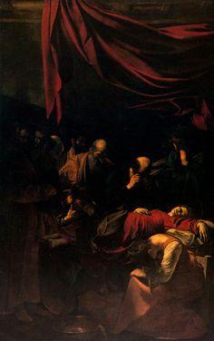 La Mort de la Vierge, Caravage (Musée du Louvre)