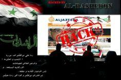 شبيحة الاسد يقرصنون موقع الجزيرة –
