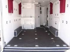 Image result for converting a cargo trailer to a toy hauler