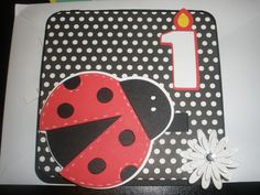 Lady Bug Birthday card Lady Bugs, Stamping Up Cards, Cricut Creations, Birthday Cards, Phone Cases, Meet, Bday Cards, Birthday Greetings, Anniversary Cards