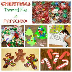 Christmas Themed Fine Motor, Learning & Crafty Preschool Fun